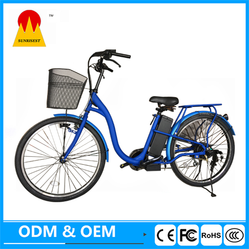 "36 Volt Lithium 26"" Electric Bicycle China"