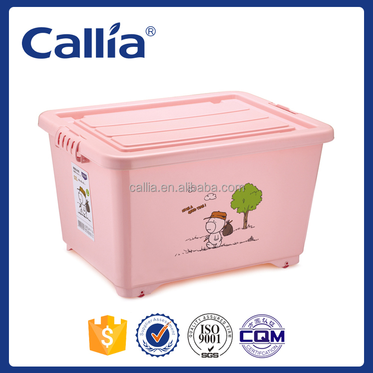 Hot Sale Home plastic containers plastic storage box with lid
