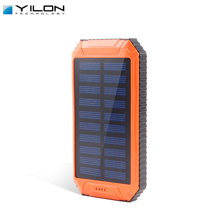 wholesale 8000 mah Power Bank Solar Charger for Smart phone