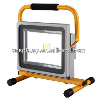 30w Portable Rechargeable Led Stand Work Light With G Style Stand ...