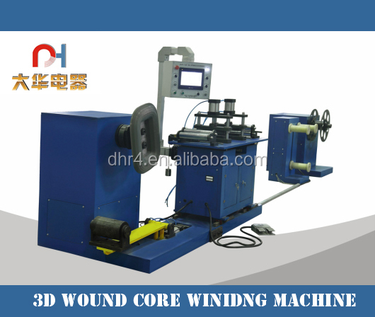 Transformer Core Winding Machine with Memory function