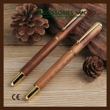 High quality wooden ball point pen wholesale wood roller pen