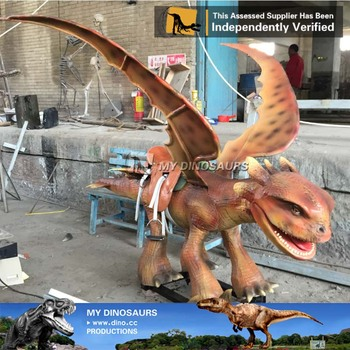 MY Dino-M24 Exclusive amusement park rides animatronic dragon rides