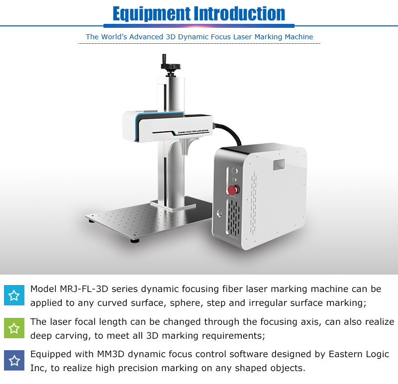 MRJ-laser 3d fiber laser marking machine granite stone for jewelry
