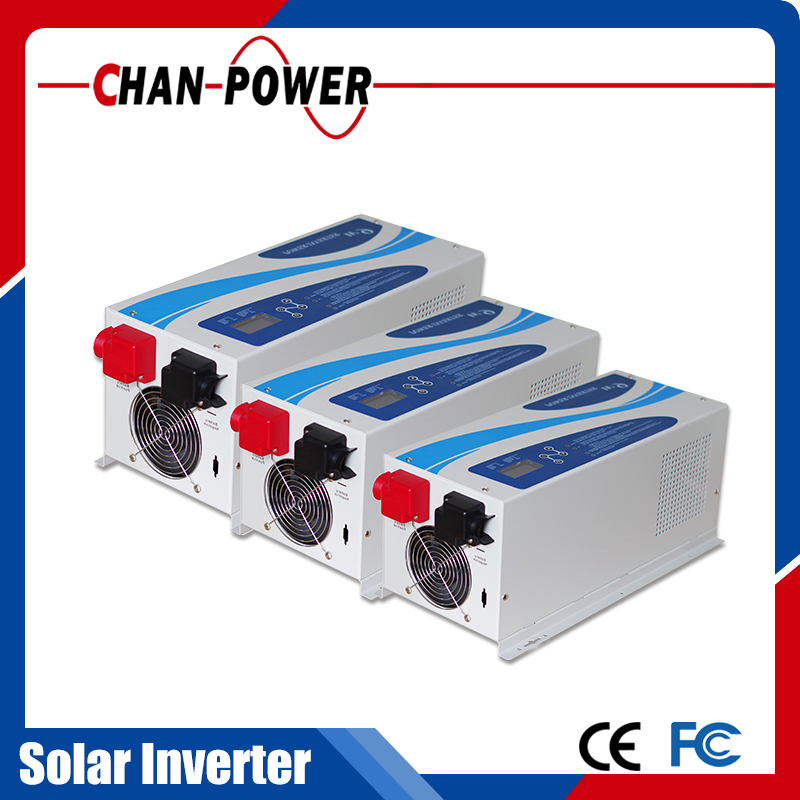 high quality wall mounted 5KW pure sine wave air conditioner 5000w inverter with charge