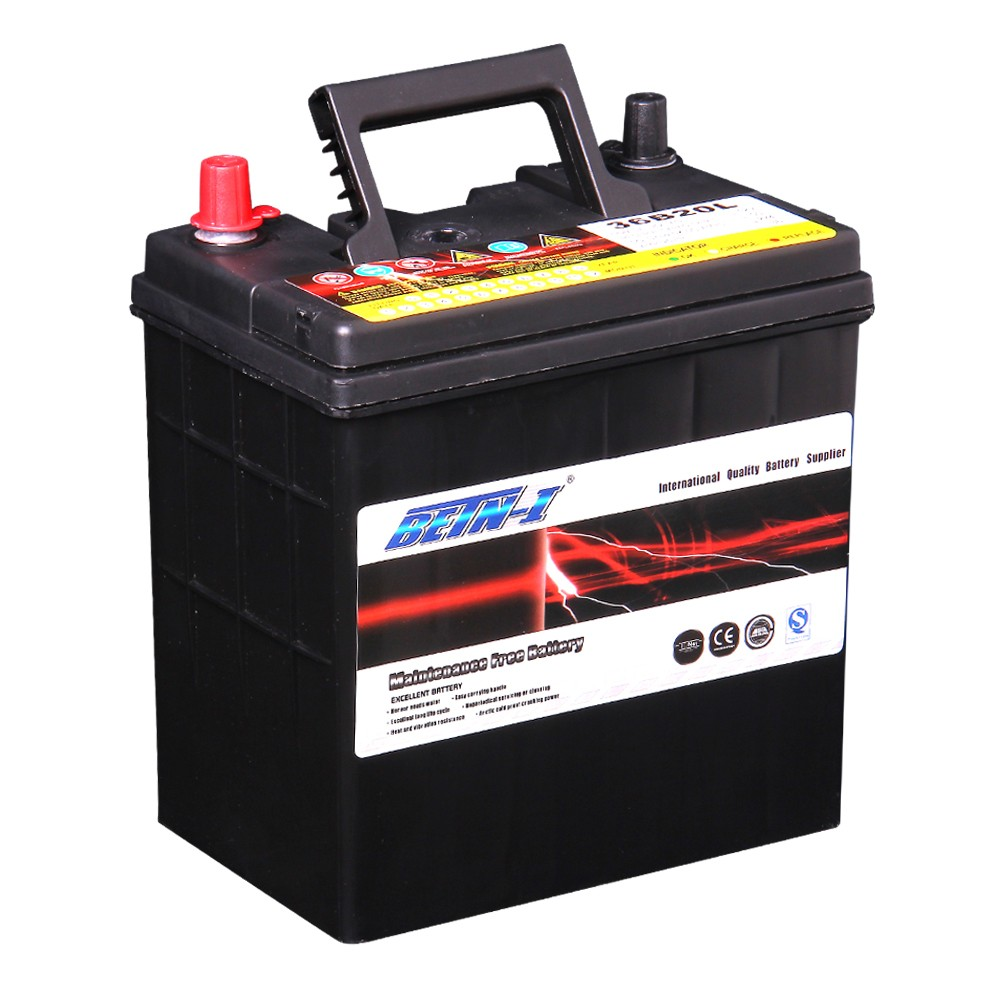 Car Battery System : Ah acid lead battery type and v voltage auto