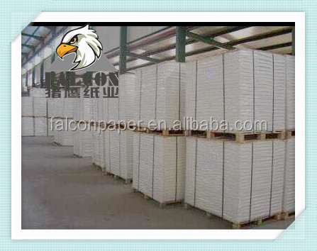 Hard Stiffness Laminated Grey Chip Paper Board In Sheet