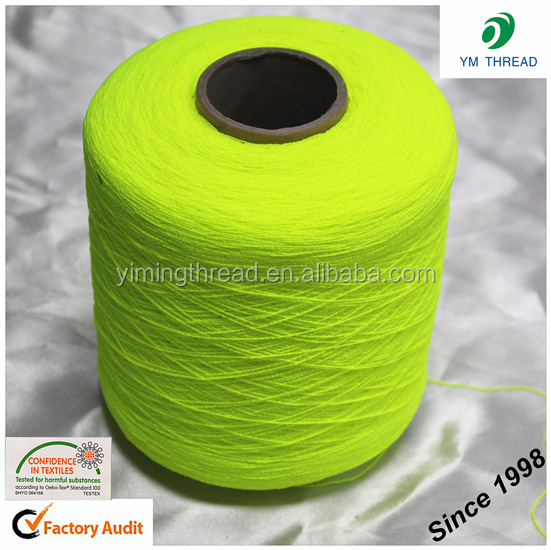 Manufacture 100% polyester 210D 280D covered spandex yarn for socks in China
