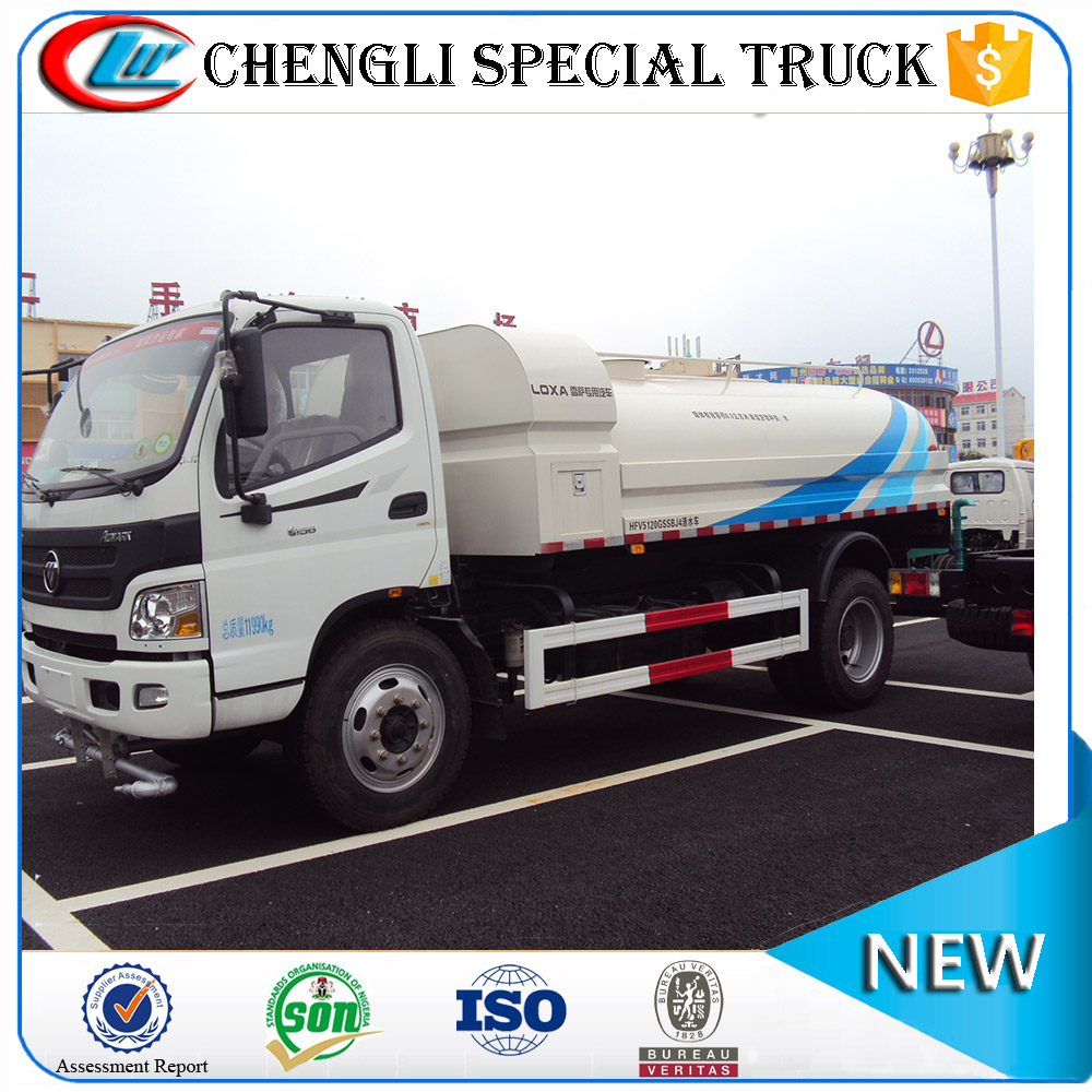 FOTON 4x2 6000 gallon truck with water tank small water truck lorry for sale