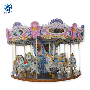 Hot sale 16 seats luxury carousel,kids carousel rides,carousel horse rides for sale