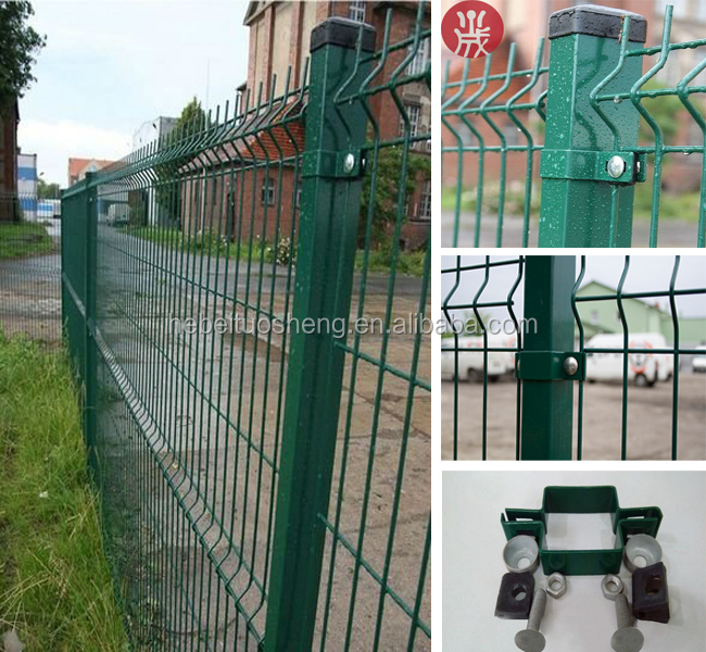 Pvc Coated Welded Steel Wire Mesh Fence Panel View Mesh