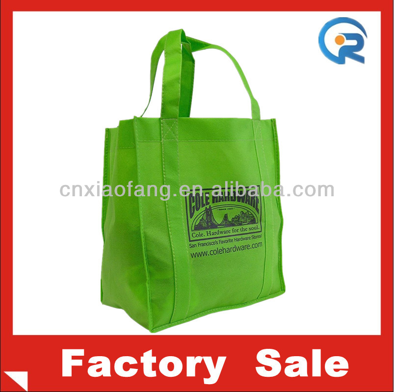 Supplier Wholesales resuable non woven supermarket bag/nonwoven gift bag