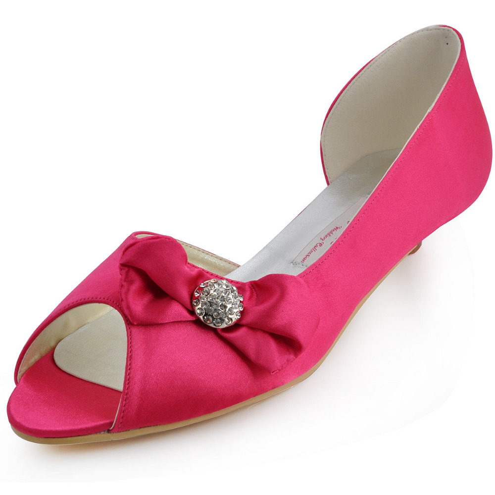 Love Moments Low heel handmade Wedding Shoes pink white pearl crystal woman  shoes bridal shoes. Cheap Gold High Heels For Women  4f56f3639df6
