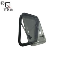 Aluminium Alloy Frame Side front car glass windscreen