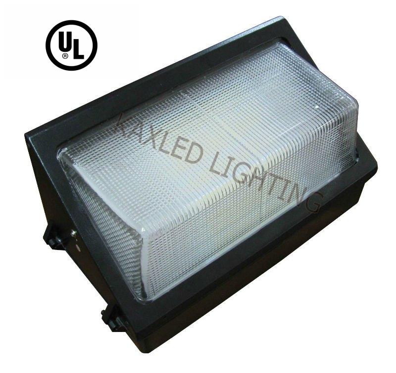 Ul 80w 120w Led Wall Pack Light Outdoor Dlc Retrofit Led