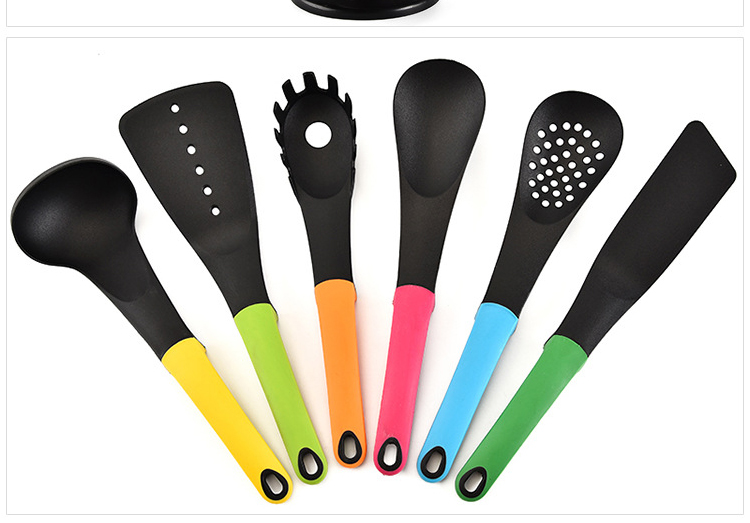 Coloful Nylon Kitchen Utensils Cooking Tool Set