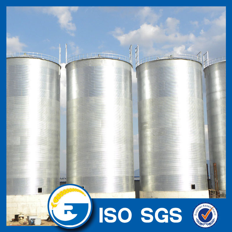 flat bottom grain silo