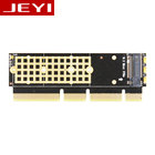 JEYI MX16-1U M.2 NVMe SSD NGFF TO PCI-E 3.0 X4 X8 X16 Adapter M Key interface card Support PCI Express 2280 Size m.2 FULL SPEED