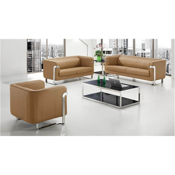 Moderne 7 Sitzer Pu Leder Buro Sofa Set Design Sf116 Neuesten Design