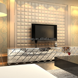 GLM Leather Carving 3d panel for wall background