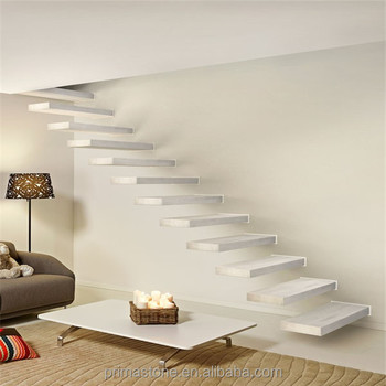 New Compact Building Floating Staircase Design
