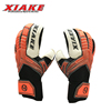 Professional Custom Colored Latex Soccer 4mm Goalkeeper Gloves