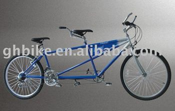 "Mountain Tandem bike 26"" passed CE with band brake"