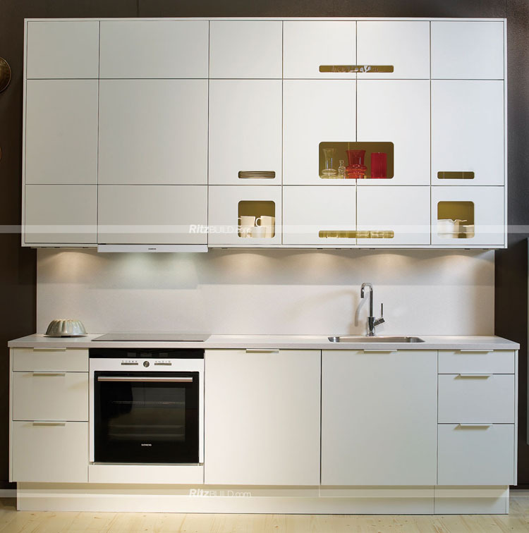 2016 Fashion Small Modular Kitchen Designs Fiber Kitchen