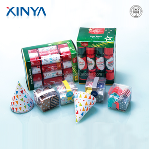 XINYA Promotional Gift Indoor Fireworks International Christmas Crackers For Children