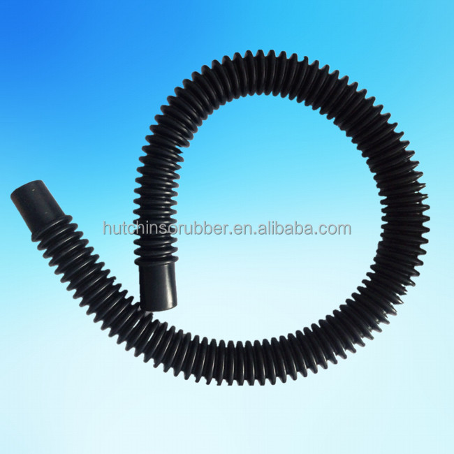 Silicone rubber corrugated bellows hose