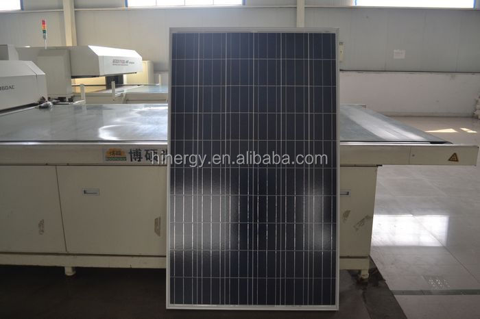 Large width solar panel 230w poly with solar panel accessories for home solar systems