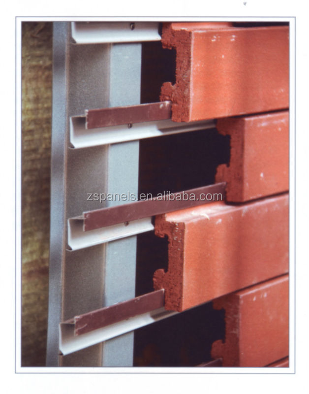 latest facade clinker wall tiles terracotta klinker brick for