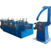 stainless steel bar edge trimming machine with recoiler