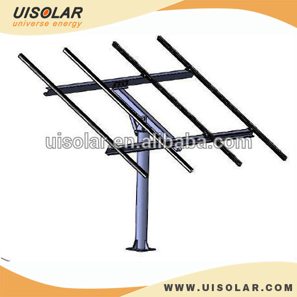 Solar Panel Support Structures Single Pole Pv Bracket