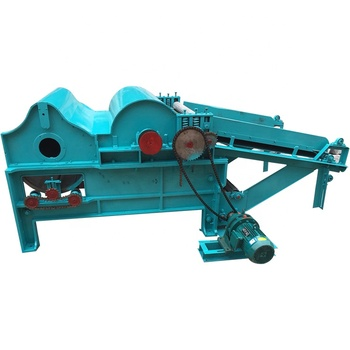 Cotton textile spining and opening machine fiber process and clearing machine for waste cloth