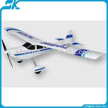 4-ch Epo Trainstar (747-4) 2.4g Plane Rc Model Hobby Rc Plane Rtf ...