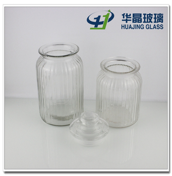 1300ml 40oz Big Clear Cheap Candy Glass Jars Mason Jars With