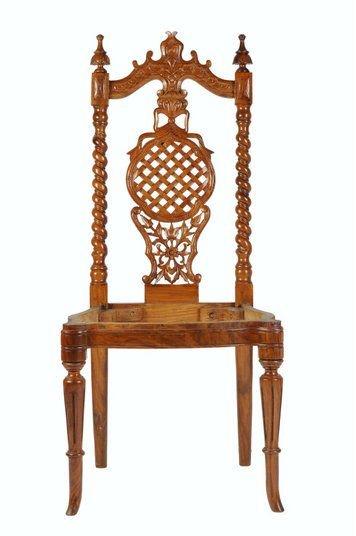 Shesham Wood Hand Made Polished Fancy Chair Alibaba Woodpecker Wp-0001 -  Buy