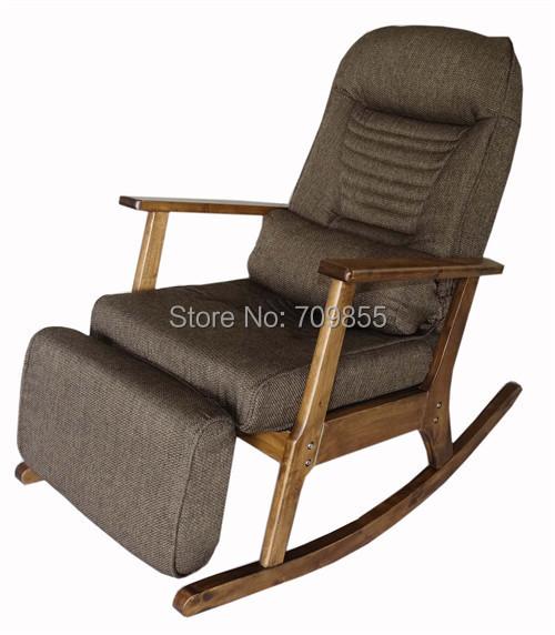 garten liege f r ltere menschen japanischen stil sessel mit hocker armlehne. Black Bedroom Furniture Sets. Home Design Ideas