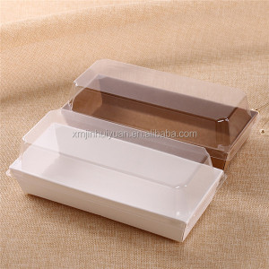 Food Grade White Cardboard Sandwich Package Box