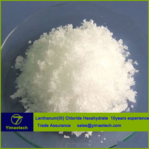 China manufacturer supply quality Lanthanum Chloride Hexahydrate