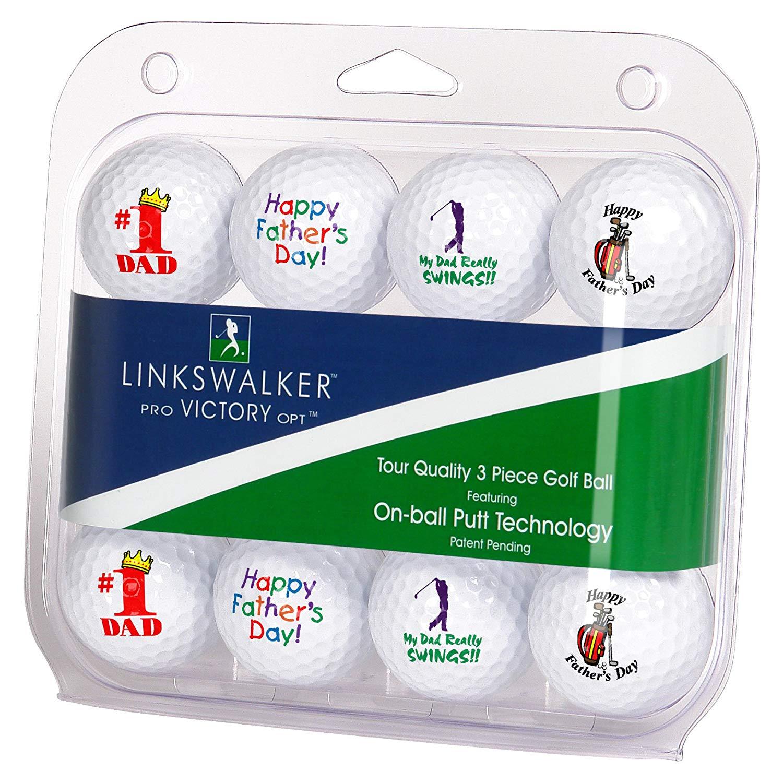 LinksWalker Father's Day Mix Dozen Golf Balls