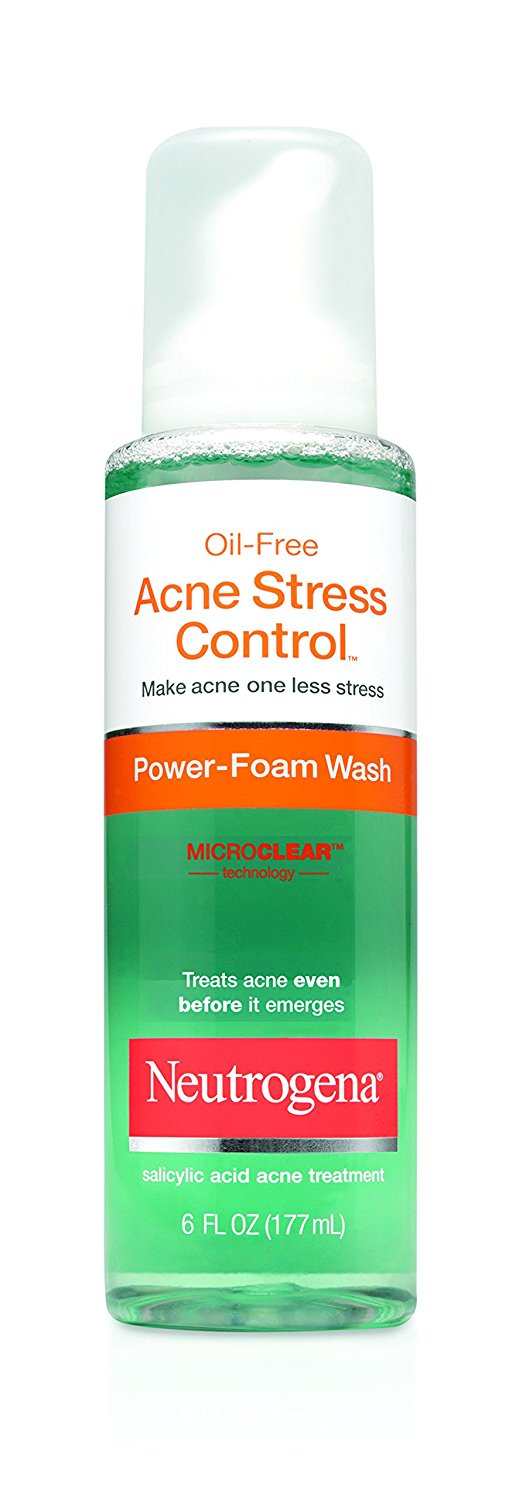 Neutrogena Acne Stress Control, Power Foam Wash, 6 Fluid Ounce