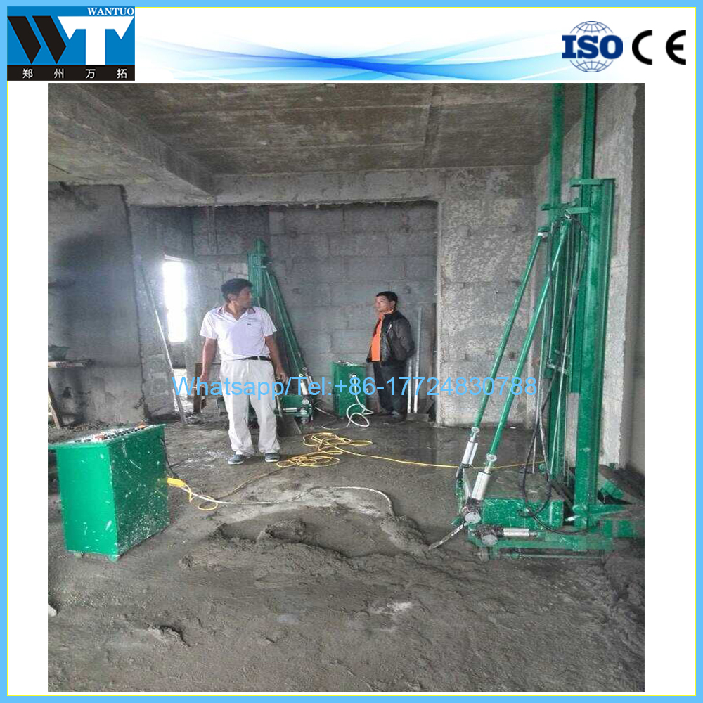 Энергосберегающие внутренние стены штукатурная машина/Горячая продажа цементная штукатурка машина