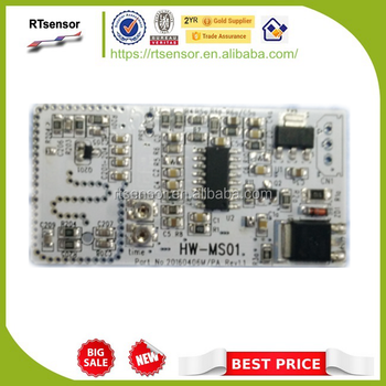 Microwave Doppler Radar Wireless Motion Sensor Module Hw-ms01 For Lighting  Products - Buy Radar Sensor Module,Doppler Sensor Module,Microwave Sensor