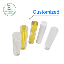 Customized transparent acrylic rod 10mm diameter PMMA clear plastic acrylic rod