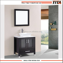Modern cheap single bathroom furniture vanity