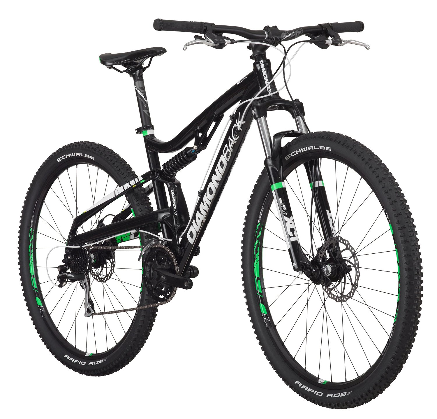 f46159b52c3 Diamondback Bicycles Recoil 29er Complete READY RIDE Full Suspension Mountain  Bike, 20