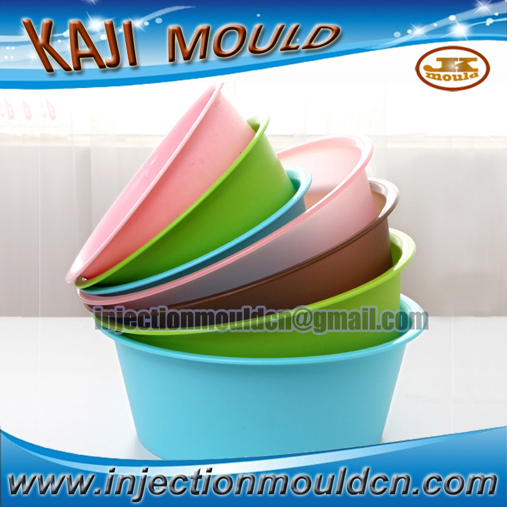 high quality house hold used plastic basin mold making