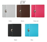 360 rotating smart cover for ipad 2/3/4 air air2 mini leather case